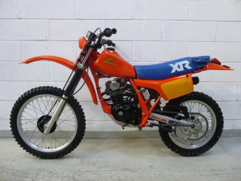 Honda Xr200 1983 For Sale Jk Racing Vintage Motorcross
