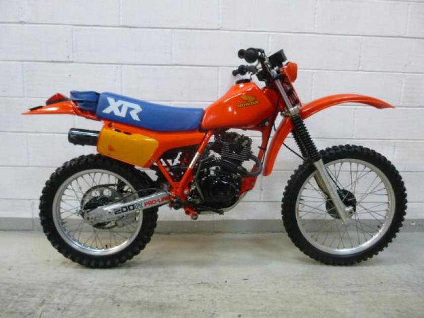 Honda Xr200 1983 For Sale Jk Racing Vintage Motorcross