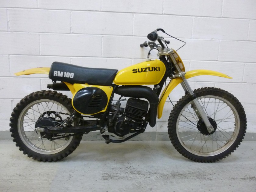 suzuki RM100 1977 SOLD For Sale