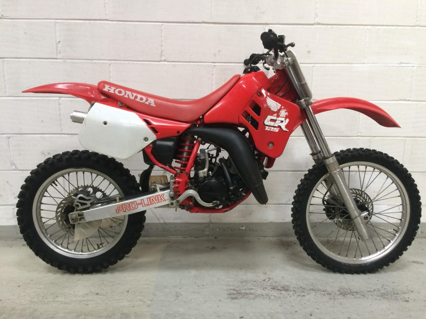hONDA CR125 1988 .....SOLD For Sale