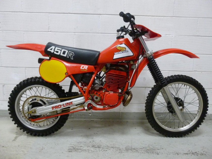 Honda CR450 1981 SOLD For Sale