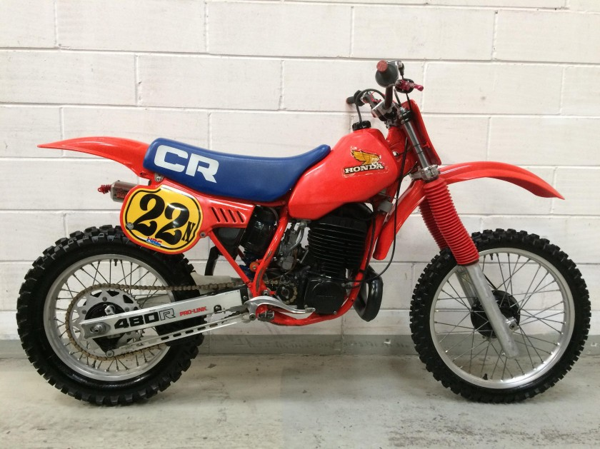 Honda CR480 1983 SOLD...SOLD...SOLD For Sale