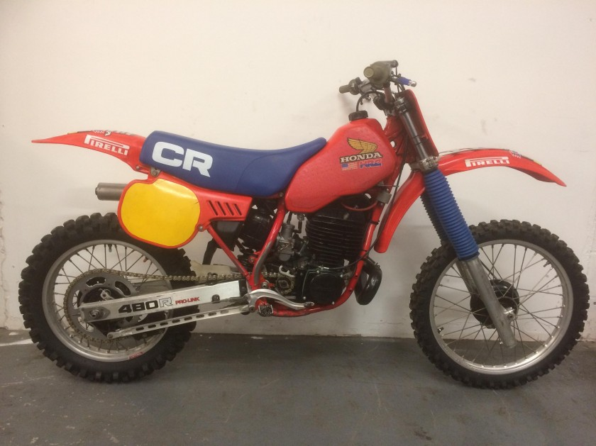 Honda CR480 1983..SOLD..SOLD For Sale
