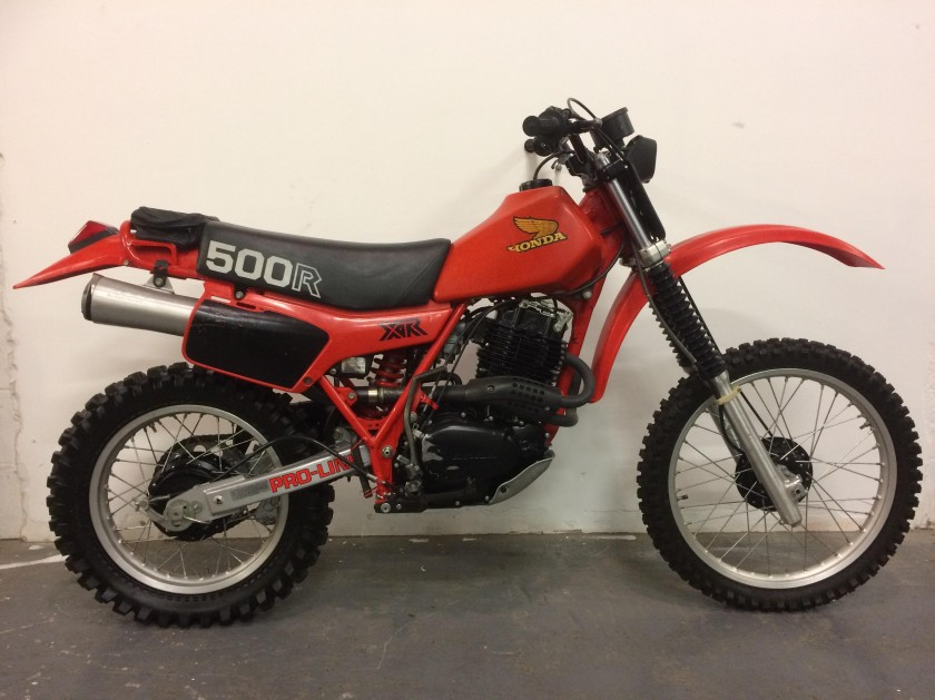 Honda XR500 RB 1981 For Sale
