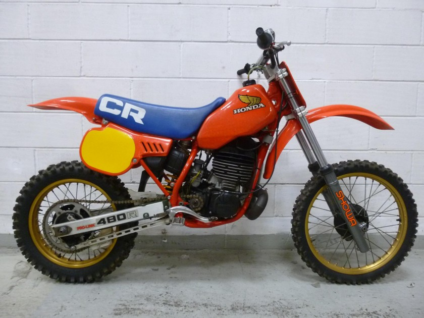 Honda CR480 1983...SOLD...SOLD...SOLD For Sale