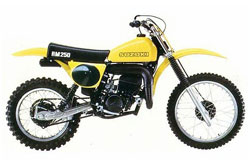 Suzuki RM250 Parts for Sale