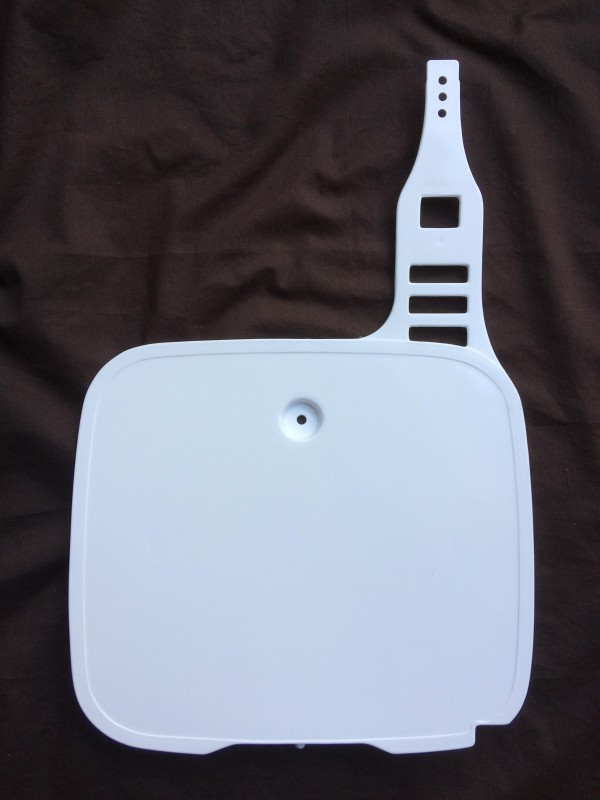 Front Number Board for 1990 Yamaha YZ 125 A 3SR 2T