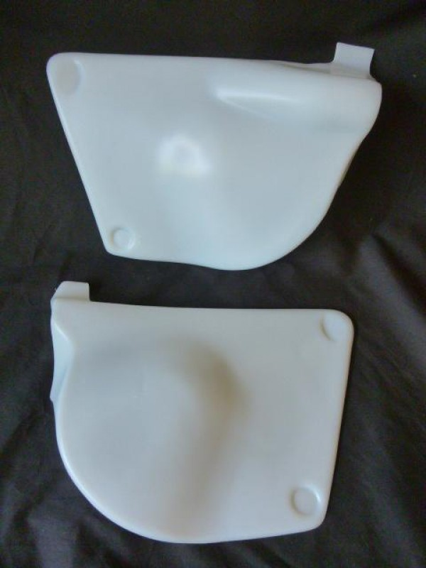 Suzuki RM250 RM370 RM400 1976-78 Side Panels Translucent