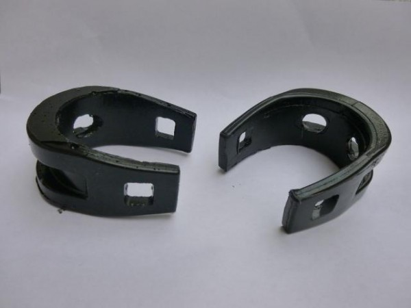 Honda CR125 1985-93 Tank support rubbers