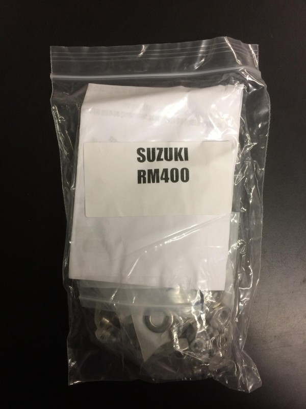 Suzuki RM400 1979-80 engine bolt set