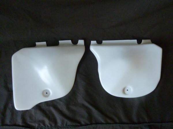 Honda CR250 1978-79 Elsinore Translucent Factory Type side panels